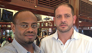 Yohannes Mekbebe, General Manager, Yeshi Group and Mahmoud Rozz, General Manager, Bernabé Senegal